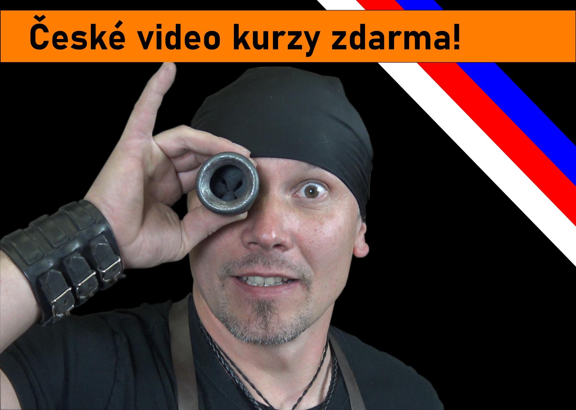 České kovářské video kurzy zdarma