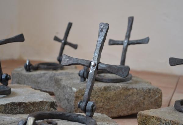 Kované kříže