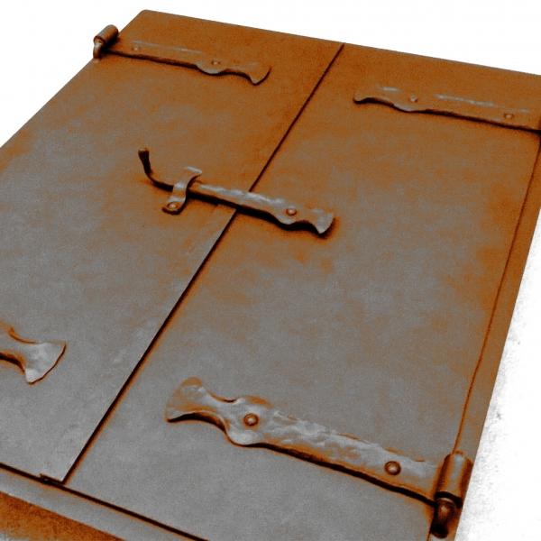 kovaný nábytek